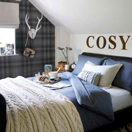 roomenvy - cosy highland bedroom