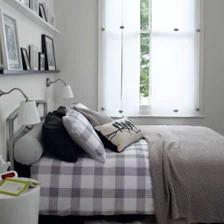 roomenvy - monochrome bedroom