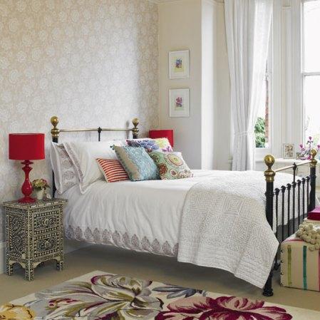 roomenvy - folk-inspired bedroom