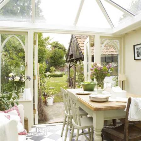 roomenvy - country conservatory dining room