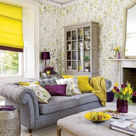 roomenvy - lemon and plum living room