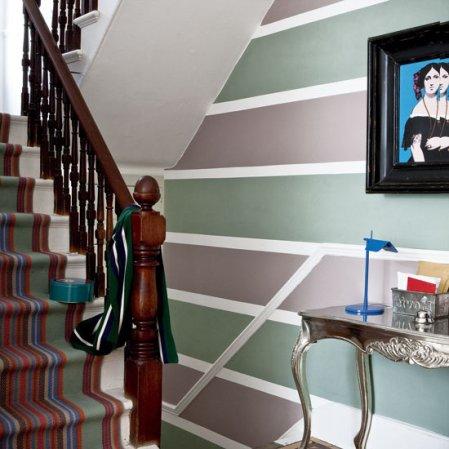 roomenvy - feature wallpaper hallway