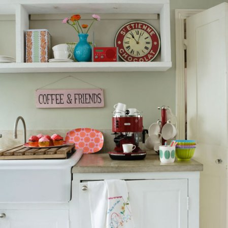 roomenvy - jazzy country kitchen shelving