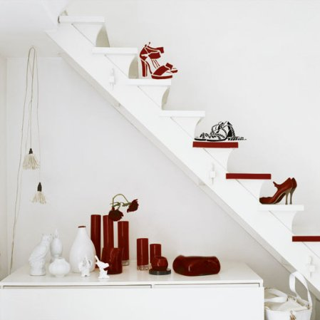 roomenvy - shoe-lovers staircase