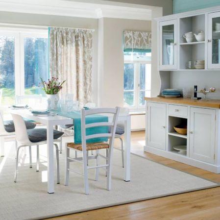 roomenvy - spring whites kitchen-diner