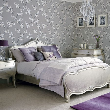 roomenvy - beautiful blossoms bedroom