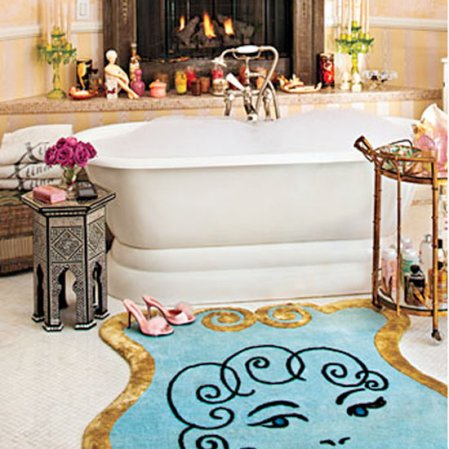roomenvy - Mediterranean glam bathroom