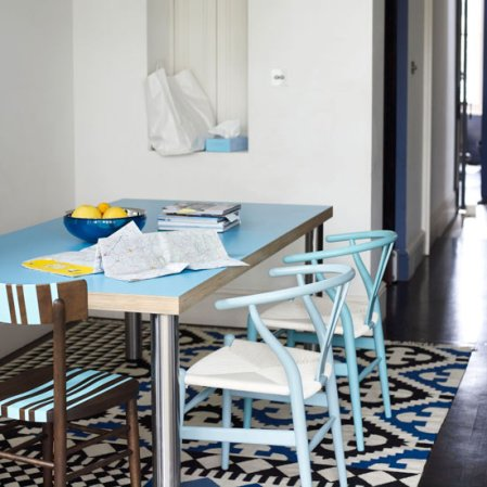 roomenvy - blue dining room furniture
