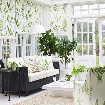roomenvy - leafy garden room