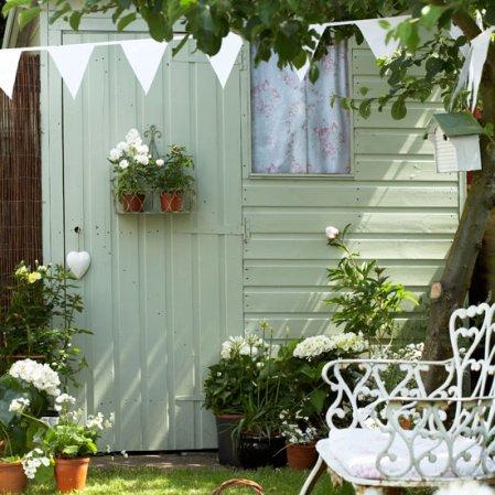 roomenvy - vintage garden shed