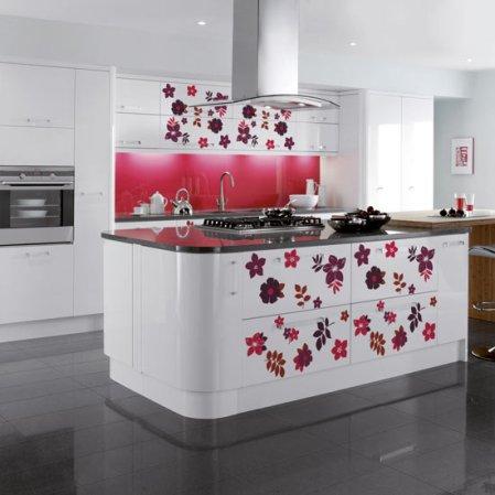 roomenvy - flower power kitchen