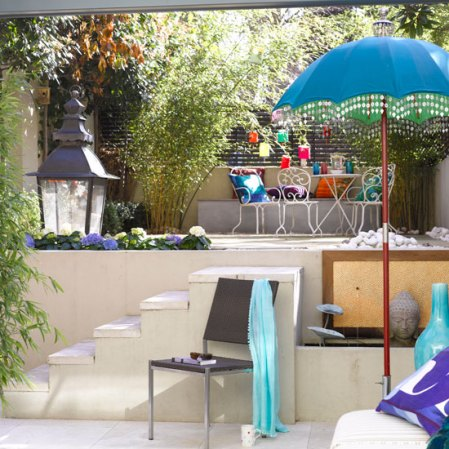 roomenvy - split-level patio design