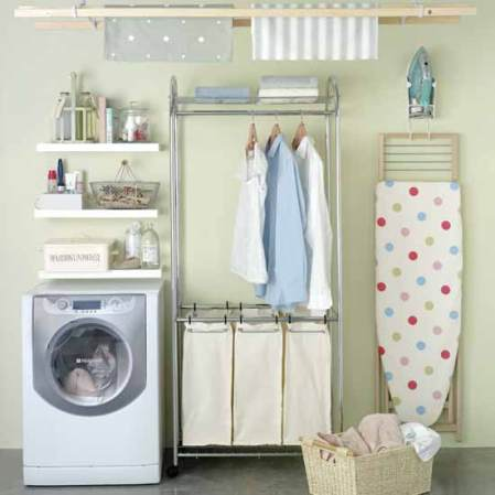 roomenvy - organised laundry room