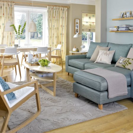 roomenvy - contemporary Scandi-style living room design