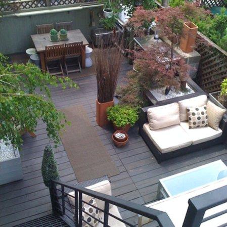 roomenvy - urban garden roof terrace