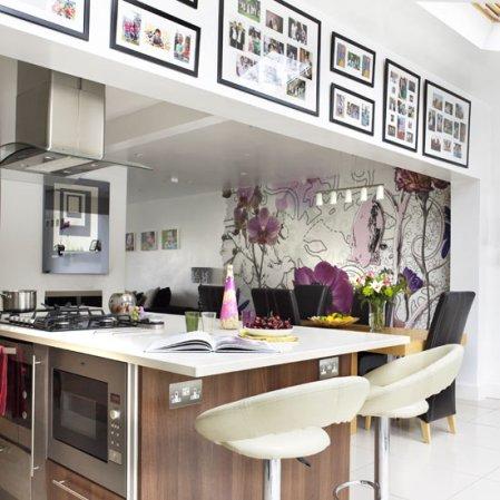 roomenvy - beautiful kitchen wallpaper