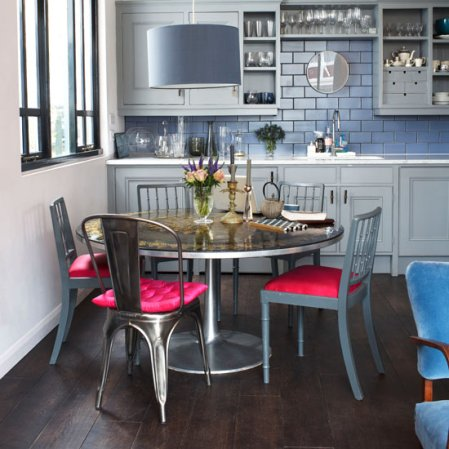 roomenvy - modern metallic kitchen