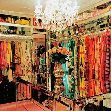 roomenvy - Paris Hilton's 5-star wardrobe