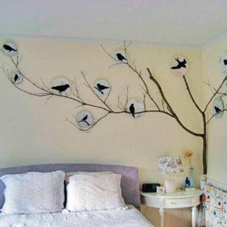 roomenvy - bedroom bird idea
