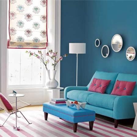 roomenvy - bright blues living room