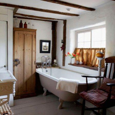 roomenvy - cute rustic bathroom