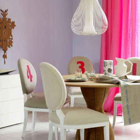 roomenvy - numbered dining room idea