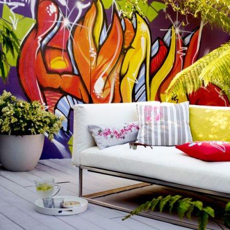 roomenvy - wow walls urban garden