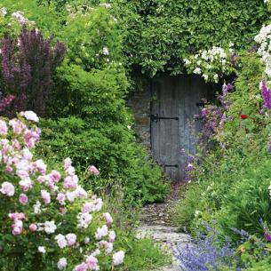 roomenvy - secret garden door
