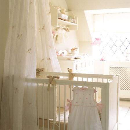 roomenvy - pretty French-style nursery