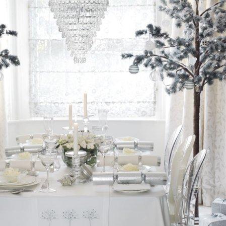 roomenvy - white Christmas dining room