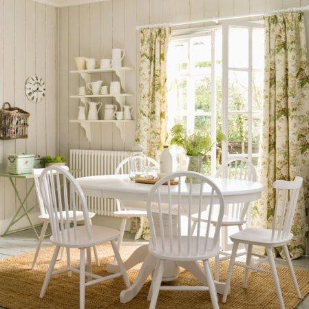 roomenvy - leafy green dining room