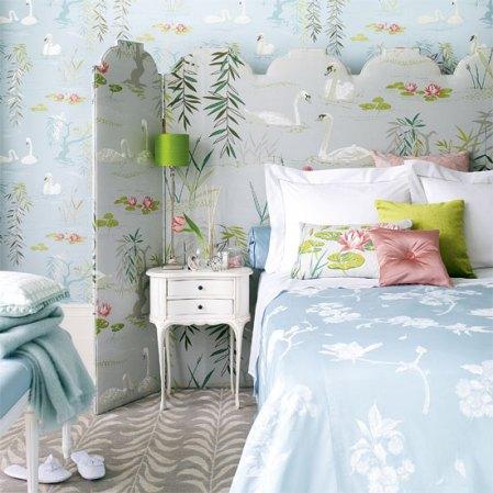 roomenvy - swan lake bedroom design idea