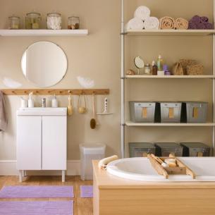 roomenvy - bathroom storage idea