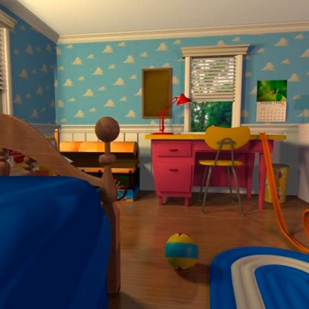 roomenvy - Andy's bedroom - Toy Story 3