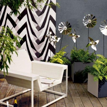 Colourful garden walls - Housetohome - Roomenvy