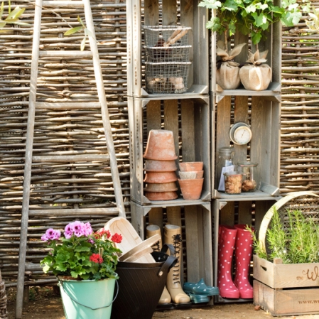 Potting shed storage - Country Homes & Interiors - Roomenvy