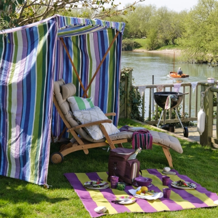 Riverside picnic area - Country Homes & Interiors - Roomenvy