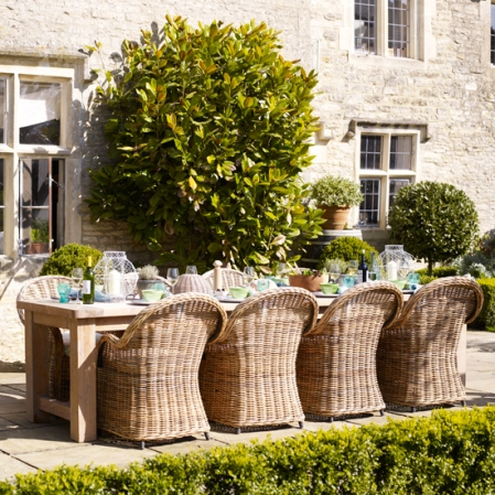Relaxed terrace - Alfresco dining - Homes & Gardens