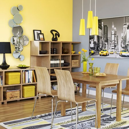 roomenvy - mellow yellow dining room