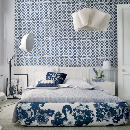 Graphic print bedroom - Summer of Love - Roomenvy
