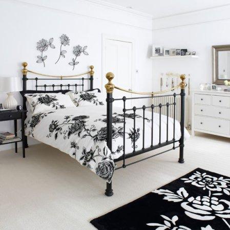 roomenvy - monochrome bedroom design