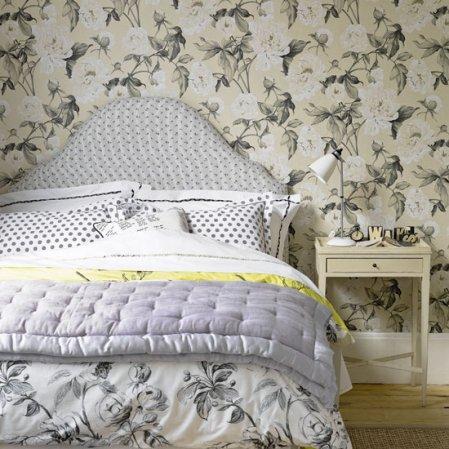 roomenvy - statement wallpaper bedroom design