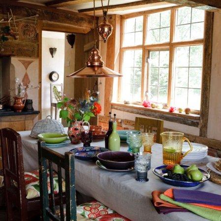 roomenvy - harvest festival dining room
