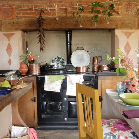 roomenvy - autumnal country kitchen