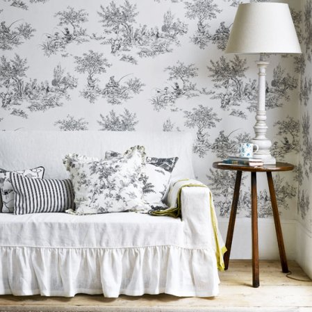roomenvy - monochrome ideas for decorating a living room