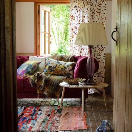 roomenvy - colourful living room decorating idea