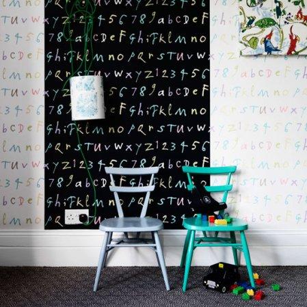 roomenvy - funky children's wallpaper