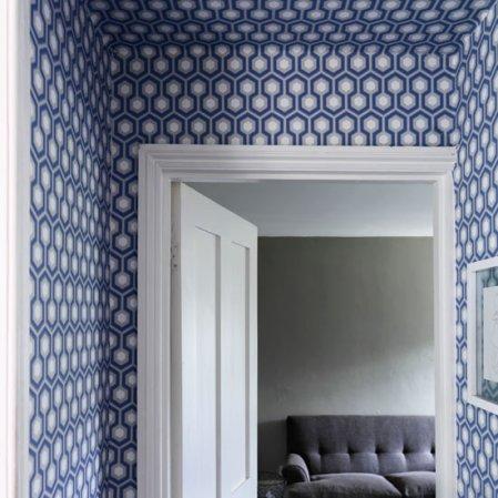 roomenvy - modern hallway wallpaper