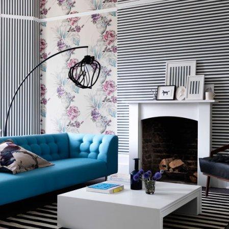 roomenvy - Living room wallpaper design
