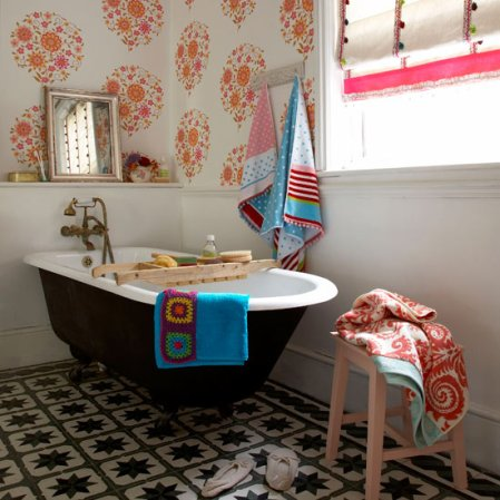 bathroom inspiration | country craft ideas | Country Homes & Interiors | image | Roomenvy